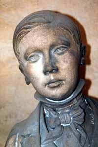 Augustin Simonar, le petit communiant