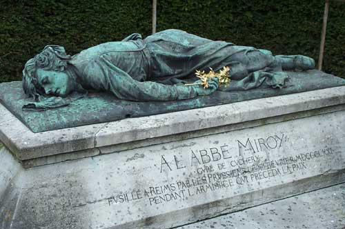 L'Abbé Eugène Miroy :Le Martyre du curé patriote de Cuchery