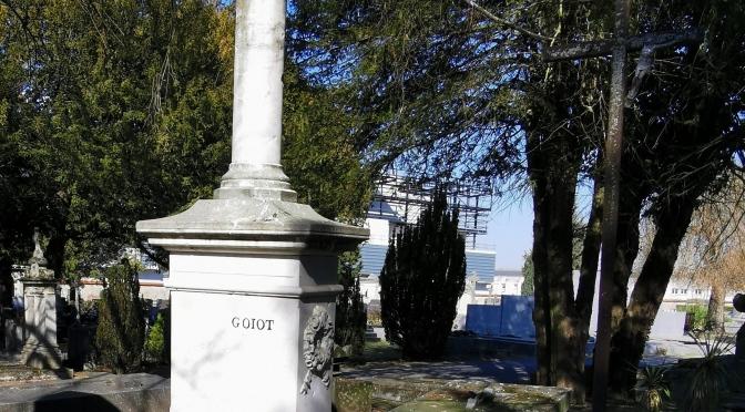 Claude Goiot, mécène du crématorium du cimetière de l'est