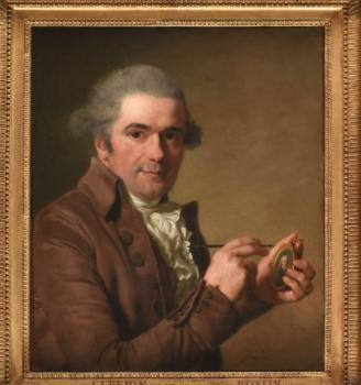 Lié Louis Périn, miniaturiste, portraitiste