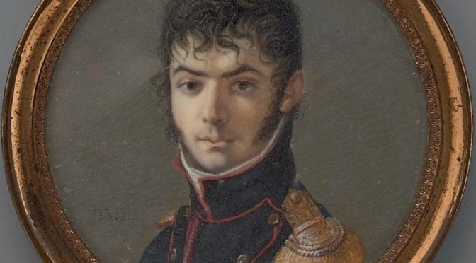 Le général Bernard Verrier (1773-1837)fait scier la croix de la Mission