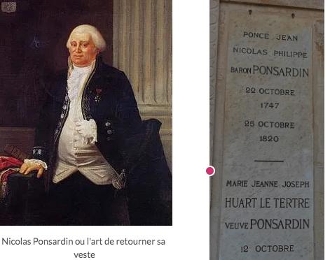 Jean-Nicolas Ponsardin: pleutre ou opportuniste?